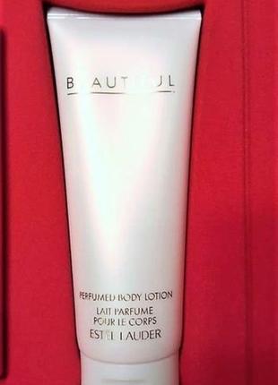 Estée lauder beautiful роскошный лосьон для тела , 100 мл.