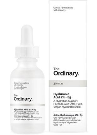 Сыворотка с гиалуроновой кислотой the ordinary hyaluronic acid...