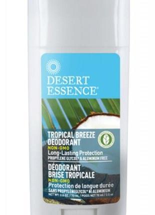 Desert essence твердый дезодорант с маслом чайного дерева и га...