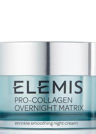 Ночной крем для лица elemis pro-collagen overnight matrix mari...
