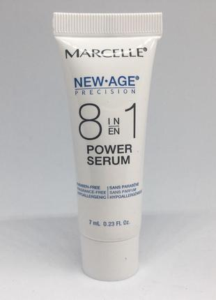 Marcelle sérum new age 8 in 1 энергетическая сыворотка, 7 мл