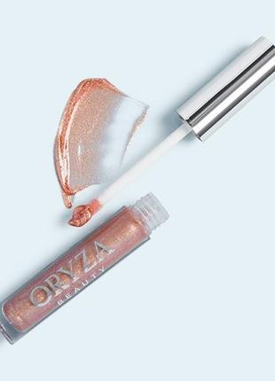 Oryza водостойкий голографический топпер для губ, 5 мл.