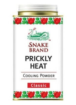 Охлаждающий тайский тальк-пудра snake brand prickly heat cooli...