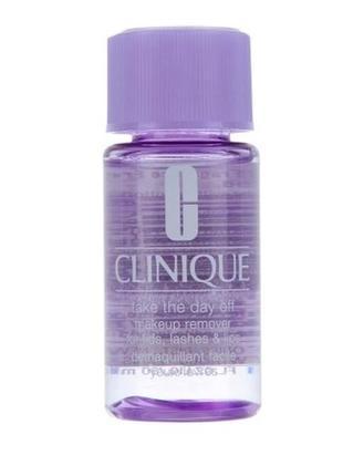 Средство для снятия макияжа с век, ресниц и губ clinique take ...