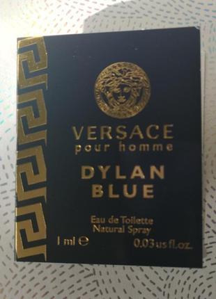 Versace dylan blue pour homme мужская туалетная вода, 1 мл