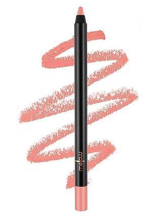 Карандаш для губ mellow cosmetics gel lip pencil в красивом ню...