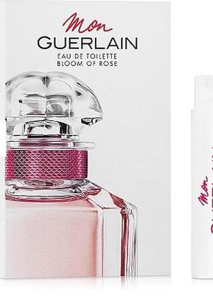 Guerlain mon guerlain bloom of rose туалетная вода 0,7 мл