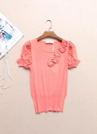Mila lio стильная летняя блуза, размер м