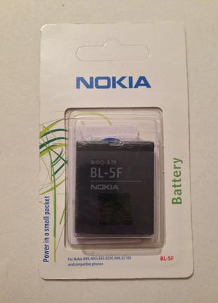 BL-5F Nokia 6210n, 6260s, 6290, 6710n, E65, N93i, N95, N96, X5-01