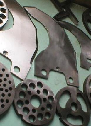 Изготовление куттерных ножей решеток Laska, Seydelmann, Inotec