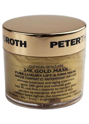Peter thomas roth 24k gold укрепляющая маска для лица с лифтин...