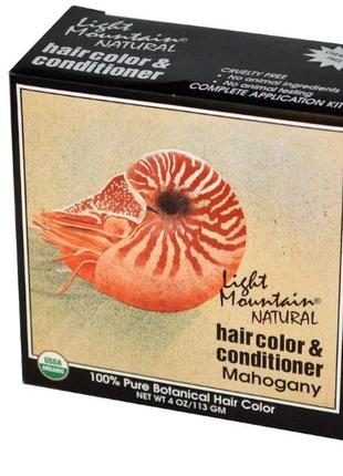 """Light mountain натуральная маска-кондиционер для волос """"красно..."""