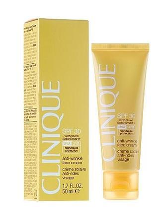 Солнцезащитный крем для лица spf30 clinique face cream, 50 мл