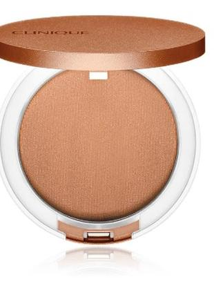 Clinique true bronze pressed powder bronzer компактная пудра, ...