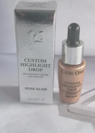 Lancome жидкий хайлайтер для лица custom highlight drop, 7 мл
