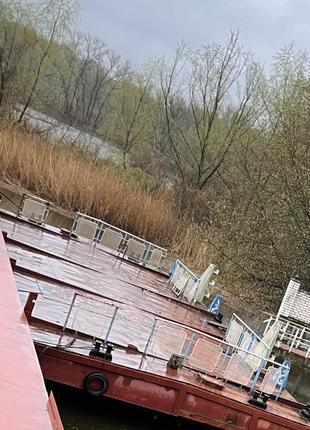 Продам причал пирс плавучий речной