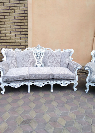 Комплект Барокко. Купить мягкую мебель. Классический диван