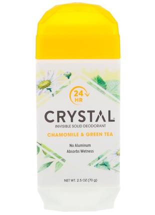 Дезодорант в стике crystal invisible solid deodorant ромашка з...