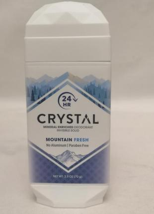 Дезодорант в стике crystal mineral enriched invisible solid de...