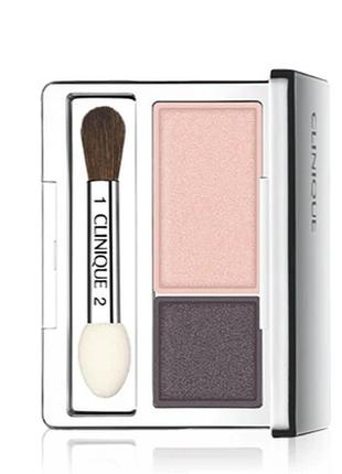 Clinique all about shadow duo тени для век двойные оттенок 01 ...