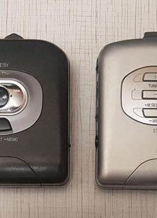 Кассетный плеер Panasonic: RQ-E15V; RQ-C10V