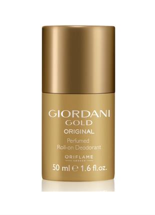 Новый роликовый парфюмированый дезодорант oriflame giordani gold