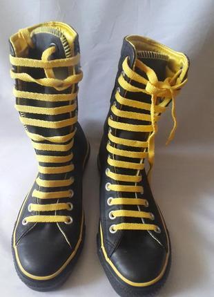 Кеды converse chuck taylor all star leather, размер 4,5