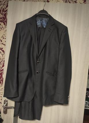 ❤️новый натуральный деловой мужской костюм брючный пиджак брюки