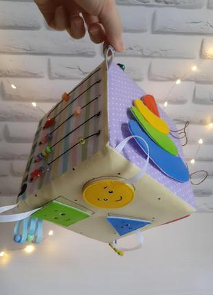 Развивающий мягкий кубик Для самых маленьких детская игрушка