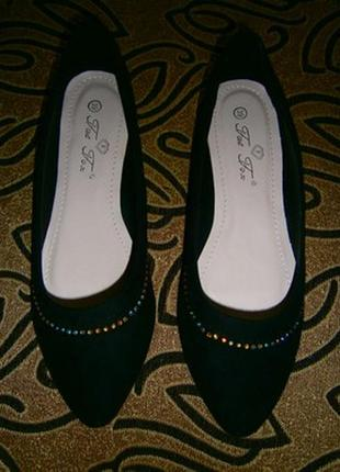 ✨👠✨красивые, новые женские балетки, туфли fat fax🔥🔥🔥