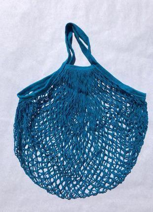 Авоська, экосумка, шоппер - синього кольору спеціально для вас.