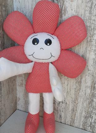 Мягкая игрушка для малышей Цветок