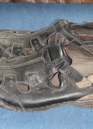 Josef seibel - кожаные сандали, мокассины