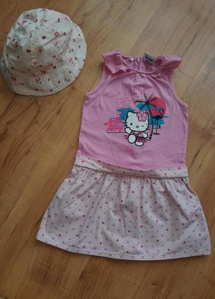 Платье сукня детское хелло китти