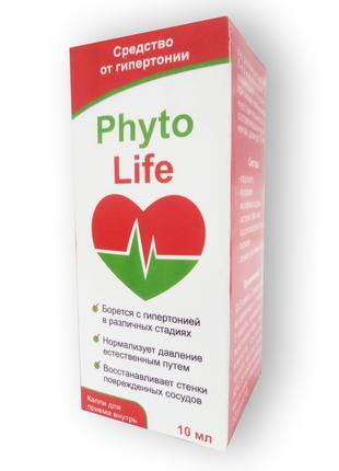 Капли от гипертонии - PhytoLife ФитоЛайф Опт купить Оптом