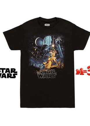 ❤1+1=3❤ star wars мужская футболка