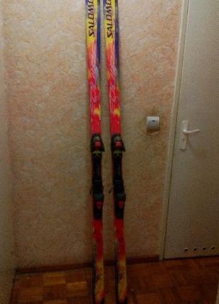 """Лыжи """"Salamon"""" 205 см."""