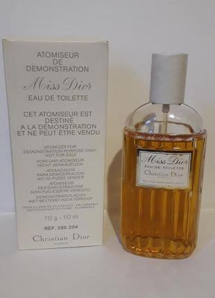 Christian dior ,,miss dior,,-edt 112ml tester