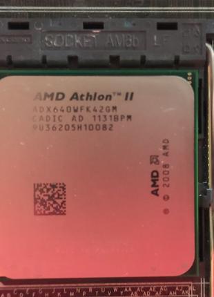 Процессор 4 ядра  AMD Athlon II x4 640 (AM3), Дисковод, Блок п...