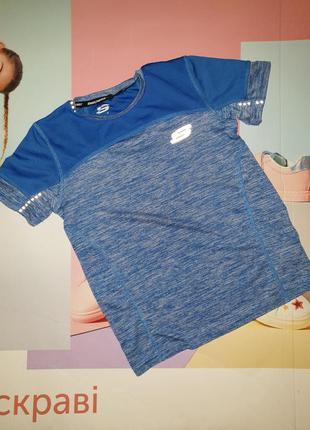 Спортивная футболка, для мальчика 7, 8,9,10 skechers