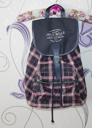 Рюкзак в клетку jack wills