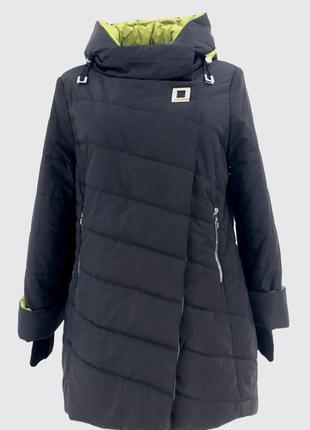 Зимняя женская куртка утепленная (50-58)