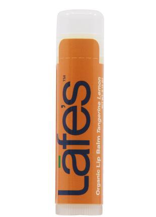 Бальзам для губ Lafe's Organic Lip Balm – Tangerine Lemon 4,25 г