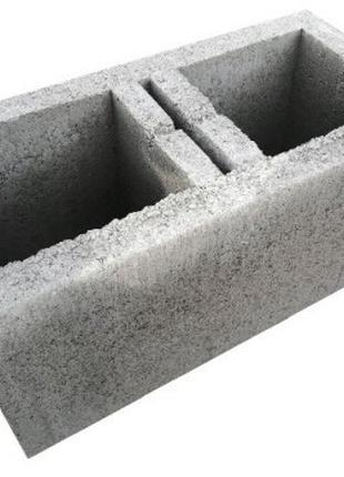 Блок стеновой сквозной, 390х190х190мм