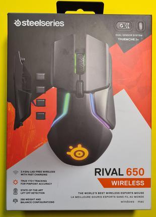 Мышь беспроводная игровая SteelSeries Rival 650