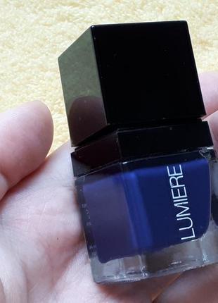 Редкий роскошный темно синий темный лак для ногтей англия lumiere