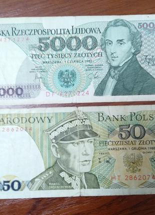 Банкноти Польщі