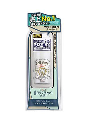 Натуральный японский дезодорант стик deonatulle