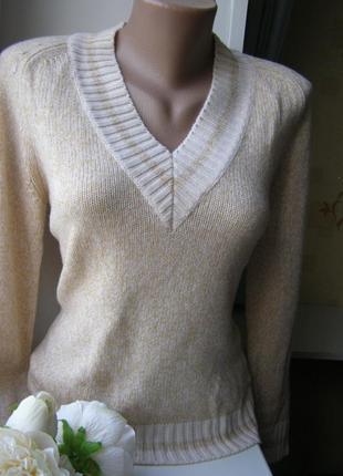 Rena lange джемпер 100% шерсть 38-размер. италия
