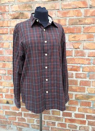 Фирменная рубашка timberland органический коттон м размер